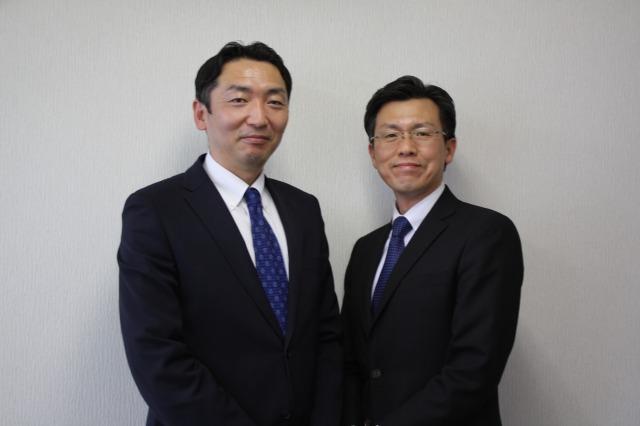 金沢佳光 様、太田 誠 様(写真右から)